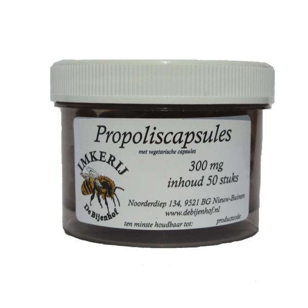 Propolis capsules 300 mg Propolis